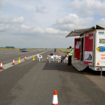 View of The Ex Runway Training Area Alconbury Driving Centre